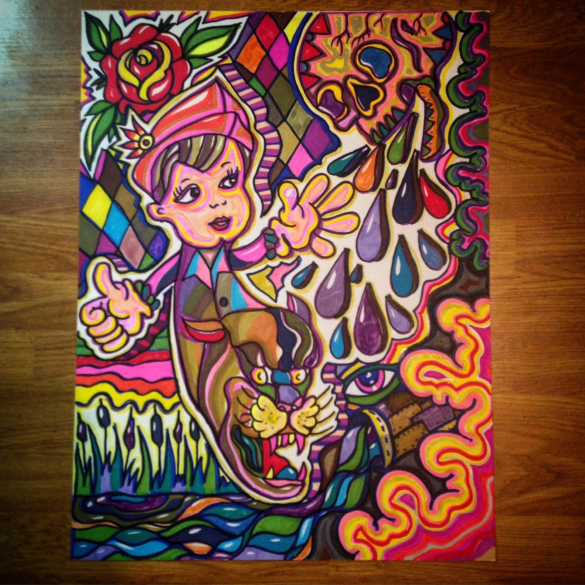 Paint Marker Artwork